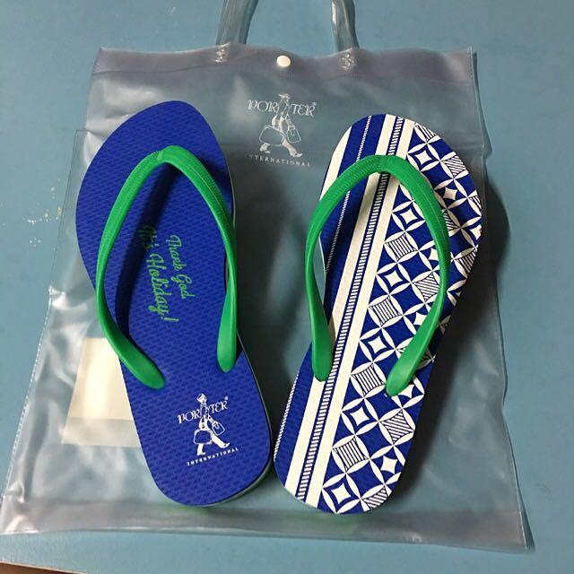 Porter人字拖鞋(正品S號)