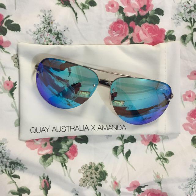 Quay Australia X Amanda - Blue