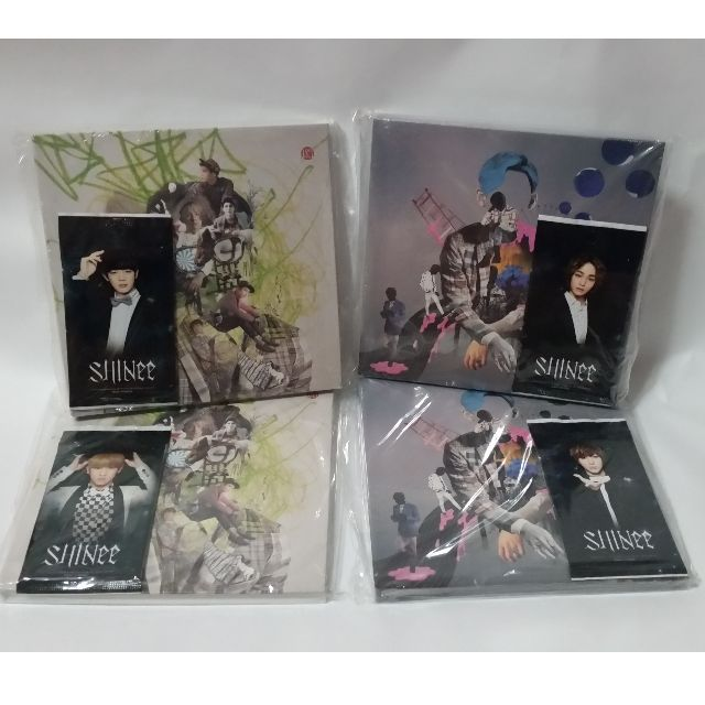 SHINee - Dream Girl & Why So Serious (Sealed)