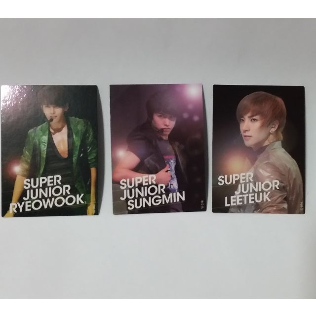 Super Junior Card Collection Official