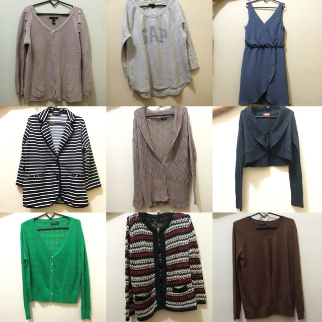 Sweater, Cardigan, Dress Branded Semua Zara Minimal HnM Dll