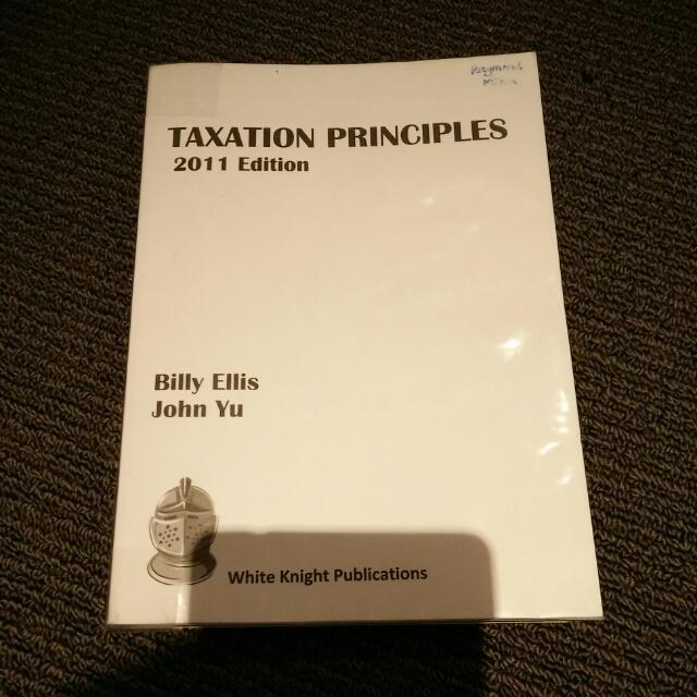 Taxation Principles 2011 Edition
