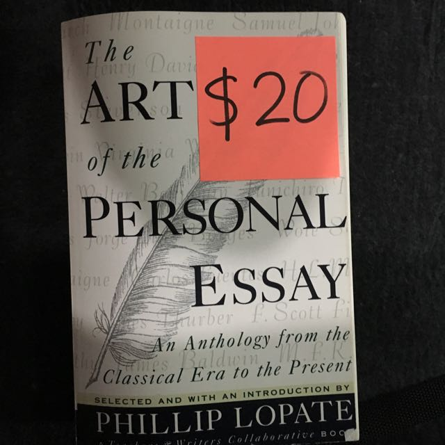 The Art Of Personal Essay