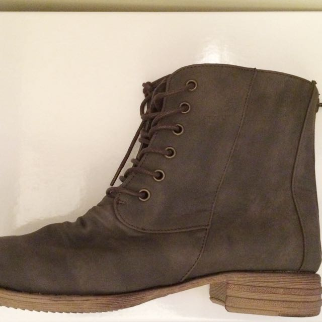 Therapy Military Style Boots