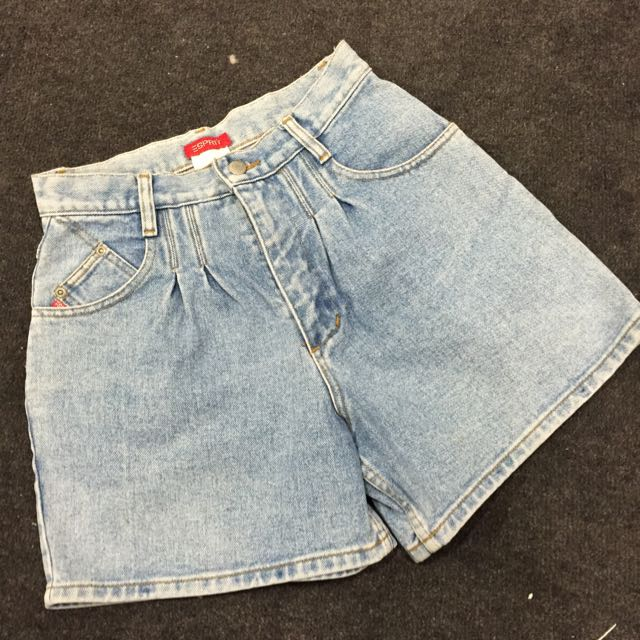 Vintage 100% Cotton Denim Shorts