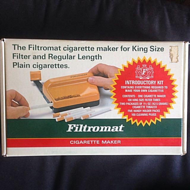 VINTAGE Filtromat Cigarette Maker 🔥✨
