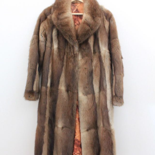 VINTAGE Real Fur Coat ✨❤️