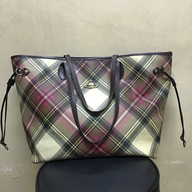 Vivienne Westwood Anglomania Zippered Tote Bag