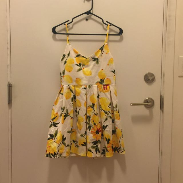 Yellow Korean Style Dress