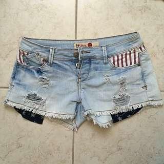 American Jean Shorts