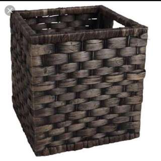 Black Water hyacinth Basket