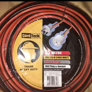 Extension Cord 25 Metres