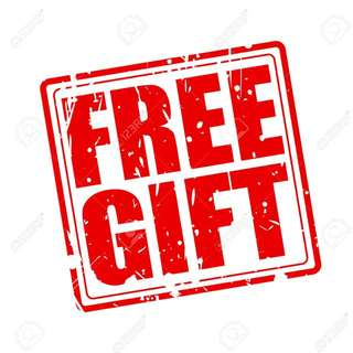 FREE GIFT WITH ANY PURCHASE