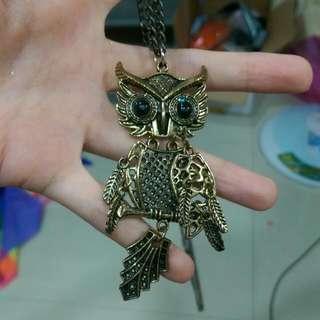 貓頭鷹項鍊✨