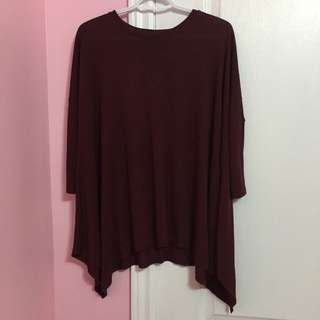 Burgundy Top From Forever 21