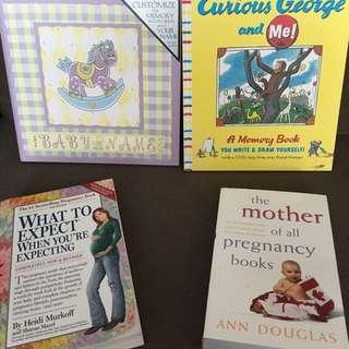 Various Baby/Pregnancy Books
