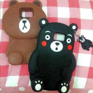 Note5手機殼 熊大  保護套