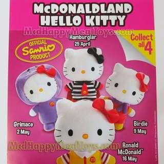 McDonald's Hello Kitty McDonaldland Series