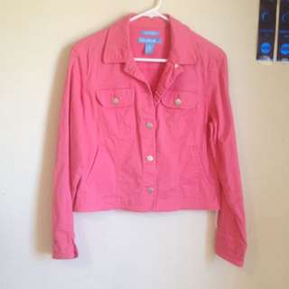 Evan-Picone causal Jacket (pink)
