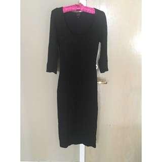 2b Bebe Black Dress