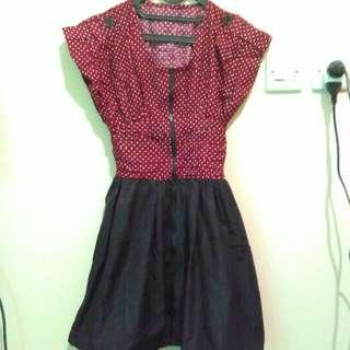 Red Polka Dresss