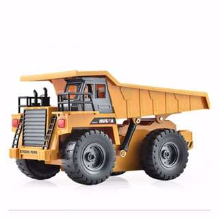 HuiNa Toys 1540 Six Channel 1/12 RC Metal Dump Truck