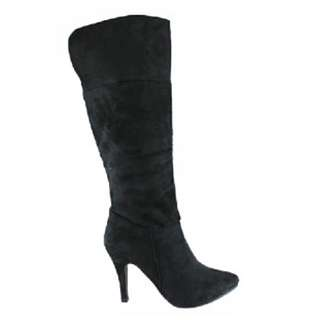 Brand New & Never Worn Size 7 Suede Mid calf Boots