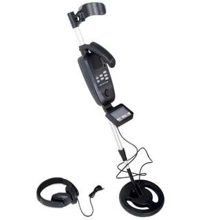 Deep Searching Sensitive Metal Detector w/ LCD System Readout