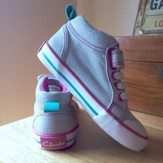 Clarks Shoes Toddler size 8