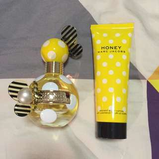 NEW - Marc Jacobs Honey Perfume & Body Lotion