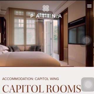 Patina Hotel Capitol. 1 Night Stay With Breakfast For 2