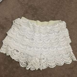 Beach Lace Shorts