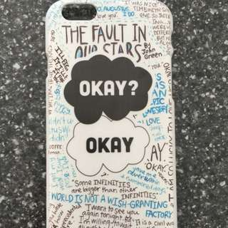 iPhone 6/6s Fault In Our Stars Case