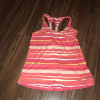Roots Kids Tank Top With Cut Out Back