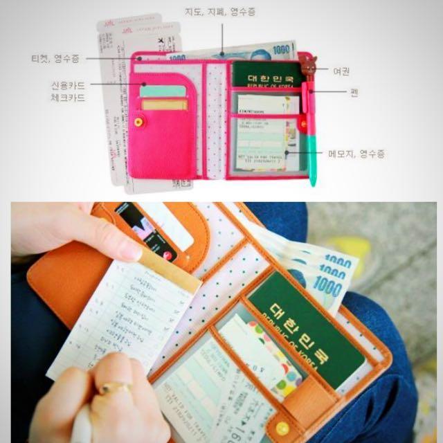 ✨含運100✨護照夾(桃)