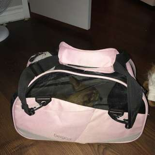 Pink Carrier Crate For Small Dog