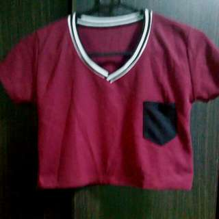 BN Cute Crop Tee With Pocket