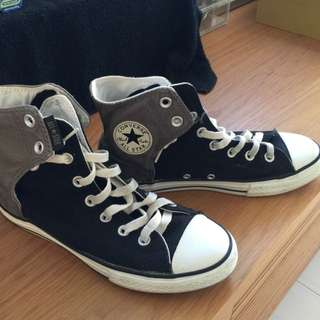 Authentic Converse Sneaker ( Black And grey Dis Tone )