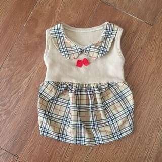 burberry dog dress S
