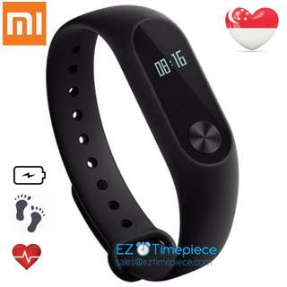 [Batch 2 - Limited SALE] Authentic Xiaomi Mi Band 2 Black Wristband with Display