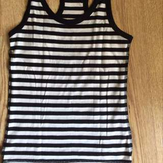 Sleeveless Stripe