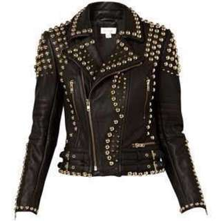Real Leather Witchery Jacket