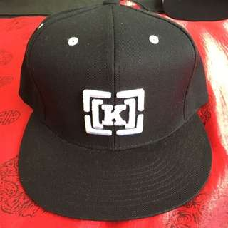 Mens Kr3w Snapback Black New