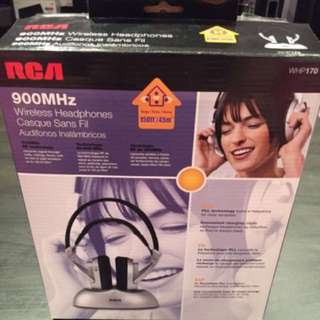 RCA Wireless Headphones WHP170