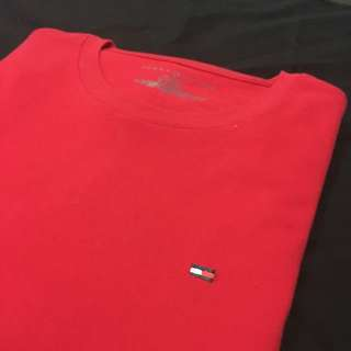 Red Tommy Hilfiger Shirt