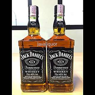 JACK DANIELS OLD NO.7 TENNESSEE BOURBON WHISKEY / WHISKY