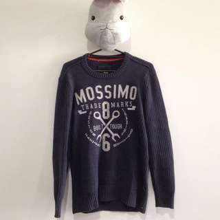 Mossimo Knit Navy Sweather
