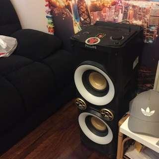 Philips NTX400 1000W Speakers