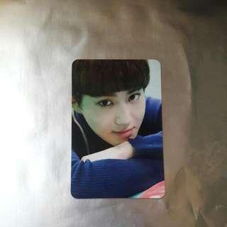 Suho Romantic Universe Photocard