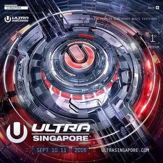 Ultra Singapore Ticket
